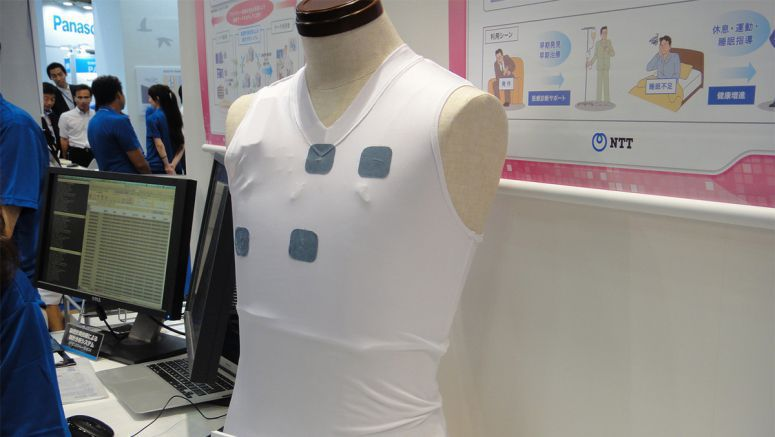 Monitor your heart rate simply by wearing a shirt with these wearable electrodes