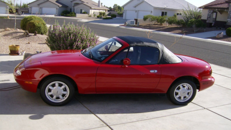 1990 Mazda Miata with just 27 original miles