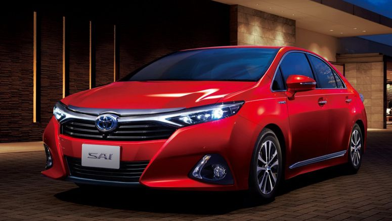 Toyota Fashions 2014 Sai Facelift After the Camry and Corolla