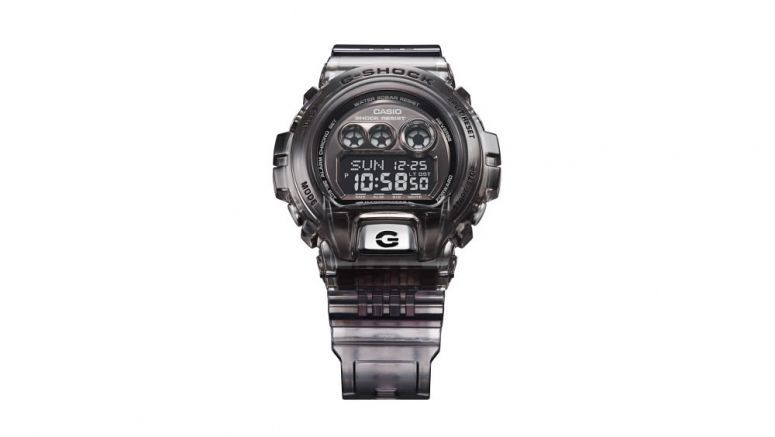 Casio big and bold G-Shock watch GD-X6900FB features gel materials to cushion shock