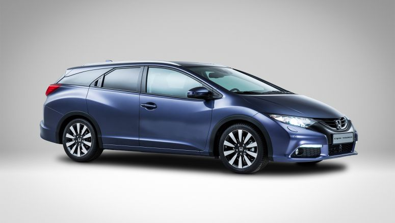 First Glimpse of the new Honda Civic Tourer