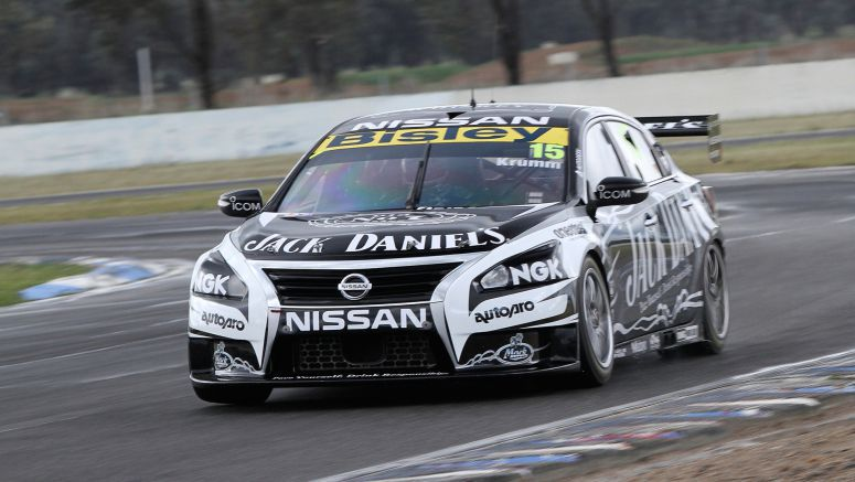 Michael Krumm and Lucas Ordonez Impress in Maiden Nissan V8 Supercars Test