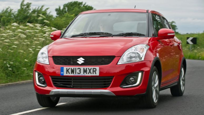 2014 Frankfurt Auto Show : Suzuki Swift Gains 4x4 Version with a Crossover Flair