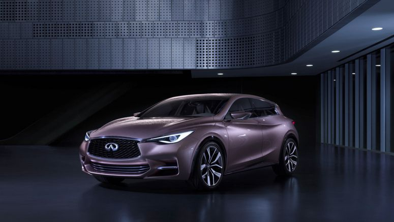 2013 Frankfurt Auto Show : Infiniti Q30 Concept uncovered Official