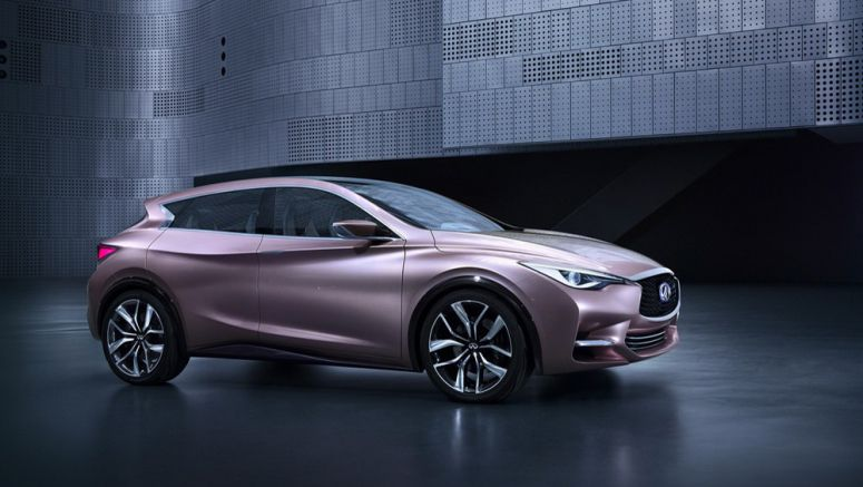New Infiniti Q30 Concept for a Premium Hatch is Two Steps Before Production