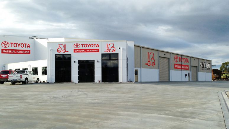 Toyota Opens New Forklift Branch In Tasmania
