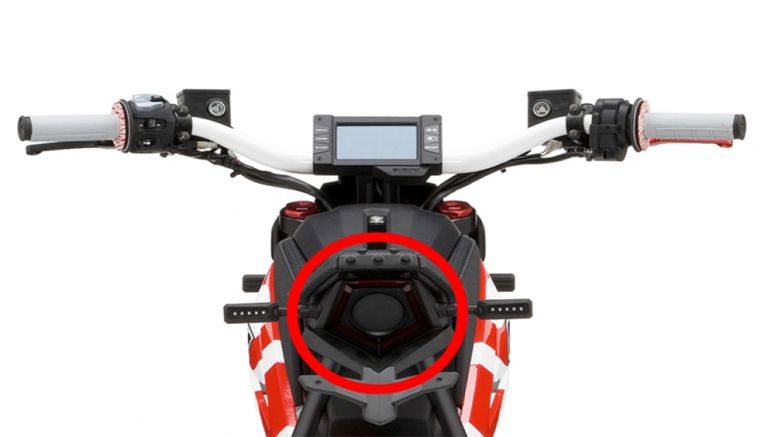 "Casio visible light communications technology utilized for Suzuki's motorcycle ""EXTRIGGER"""