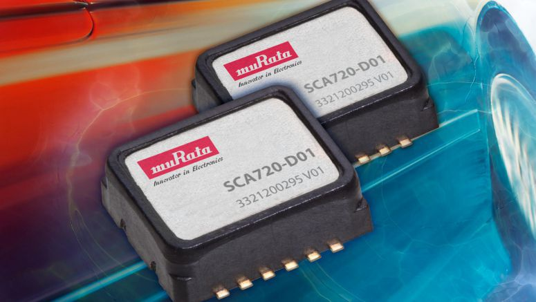 Analog MEMS accelerometer suits engine anti-vibration and electrically controlled suspension applications