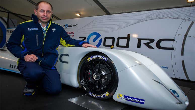 Michelin Designs Nissan ZEOD RCs Tires for Le Mans