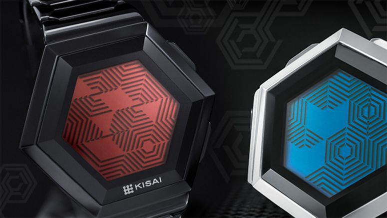 Tokyoflash turns hexagonal fan concept watch into $109 reality