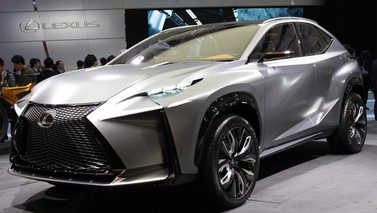 2013 Tokyo Motor Show : Lexus LF-NX gets turbocharged second act