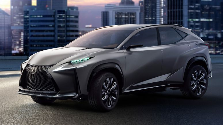 Lexus Unveils New LF-NX Concept With Turbo Engine