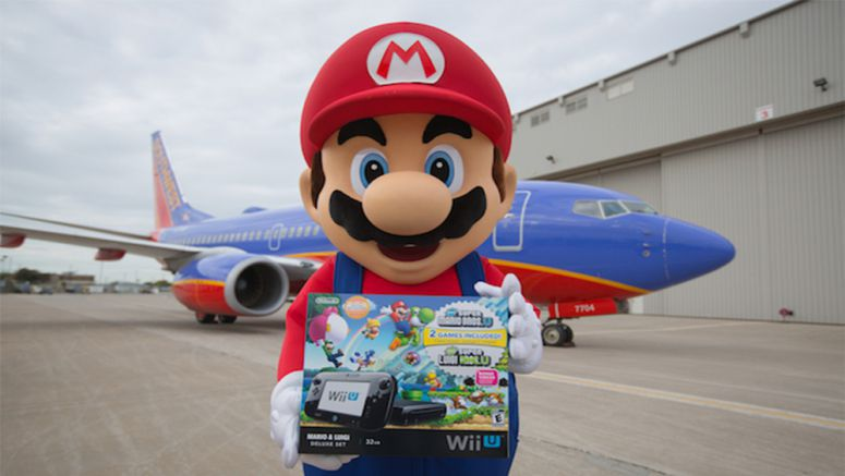 Nintendo Giving Away Wii U Consoles To Over 100 Southwest Airlines Customers