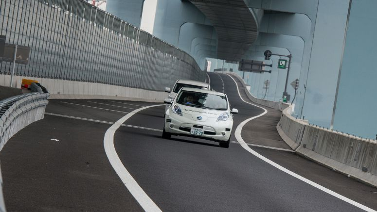 Update : Nissan Carries Out First Public Road Test of Autonomouse Drive on Expressways in Japan