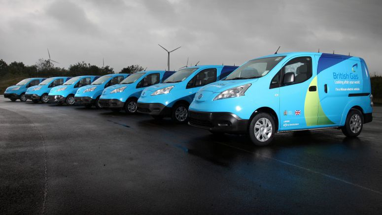 Nissan And British Gas Launch UK's Largest Ever Electric Commercial Vehicle Pilot