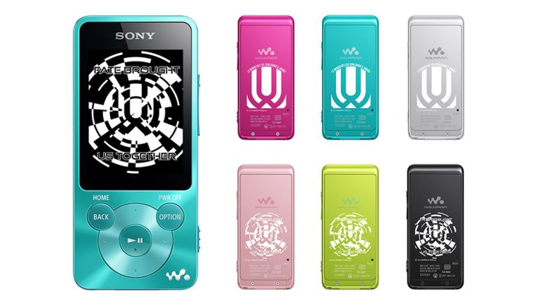 Sony : UVERworld rock band collaborated Walkman