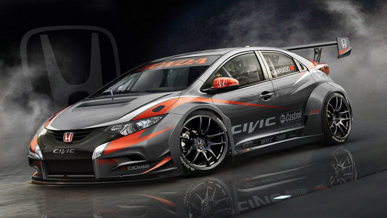 Honda reveals new Civic hatch for WTCC