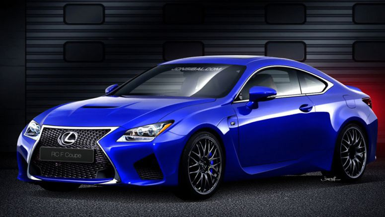 Update : Lexus RC F to be Powered by 460 Horsepower V8?