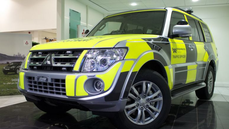 Specialist Mitsubishi Shogun SUVs for UK's Highway Agency