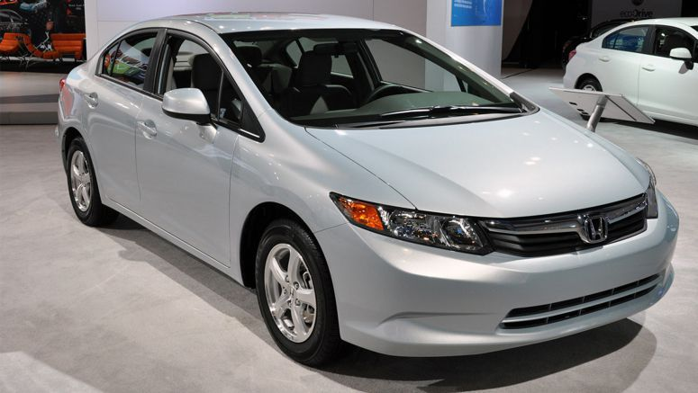 2014 Honda Civic Natural Gas, Hybrid on sale in February