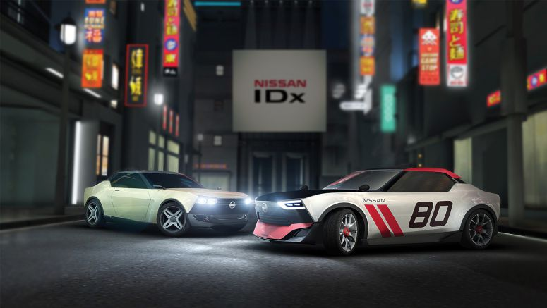 Tokyo Motor Showgoers Produce Over 100 Nissan IDx Virtual Reality Concept Car Images Using Innovative Co-Creation Process