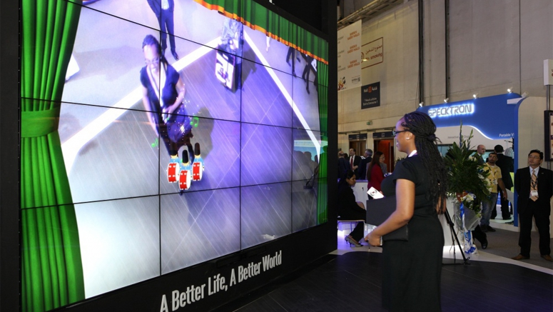 Panasonic Showcased Comprehensive Line-up of B2B and B2G Solutions at GITEX 2013