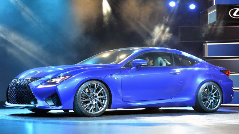 2014 Detroit Auto Show : Lexus RC F is a predatory sport coupe with a 450-horsepower beating heart