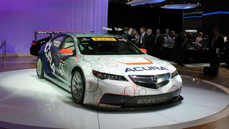 2014 Detroit Auto Show : Acura TLX GT to Race Against Porsches, Ferraris