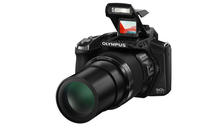 Olympus launches 50x superzoom with unique 'Eagle-Eye' gun sight STYLUS SP-100