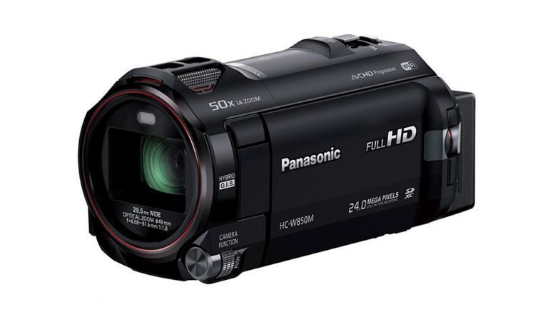 Panasonic Video camera with a sub-camera able to shoot 2 different images at a time