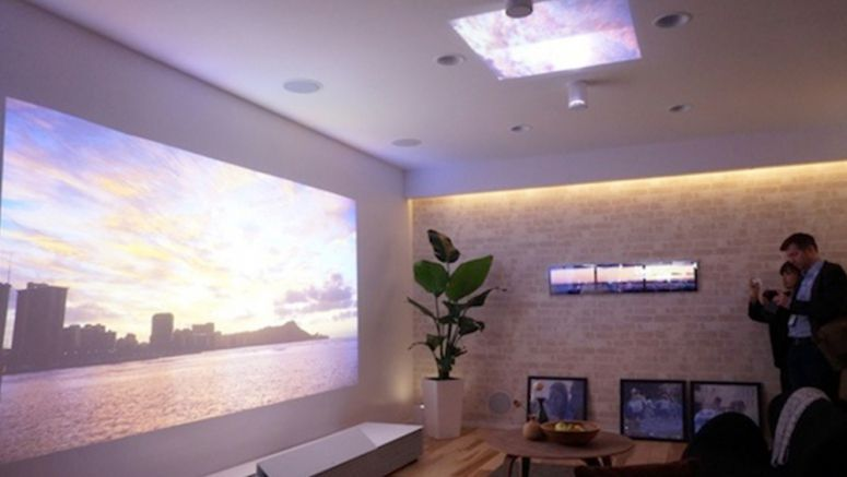 CES 2014 : Sony Life Space UX demo envisions projectors, screens everywhere