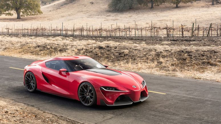 2014 Detroit Auto Show : Toyota FT-1 hints at Supra, more aggressive hybrids