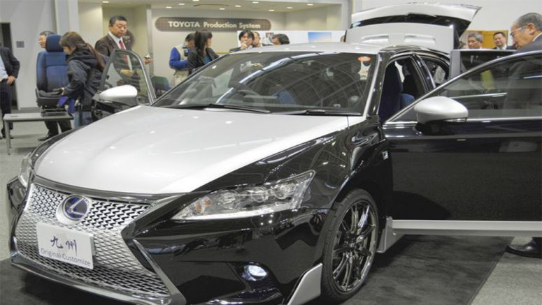 PHOTO : Lexus Manufacturing Plant in Japan Displays Custom CT 200h at Local Auto Show