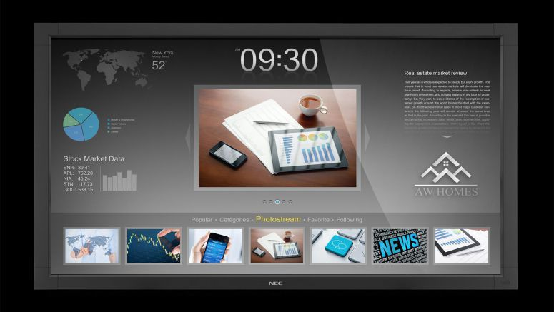 NEC V463-TM 46-Inch 4-Point Multi-Touch LCD Monitor