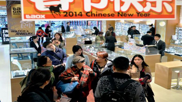 Lunar New Year brings hordes of Chinese tourists to Tokyo