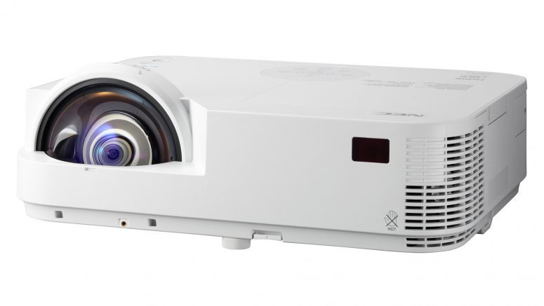 NEC Display Solutions Adds Two Digital Models To M Series Short-Throw Projectors