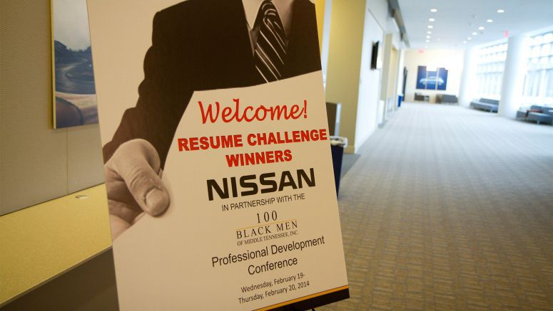 Nissan and 100 Black Men Resume Challenge culminates in Nashville