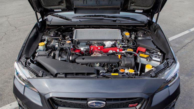 Subaru WRX STI Engine has reached the highest point
