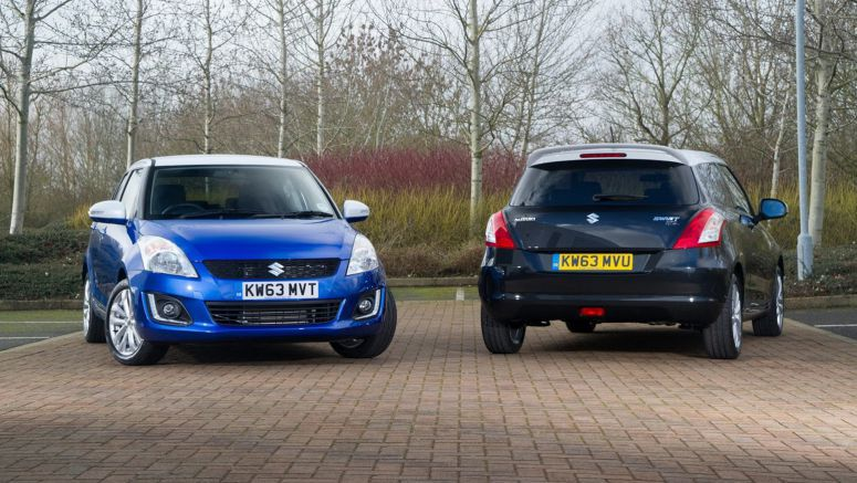 Suzuki Gives the UK 500 Units of the Special Edition Swift SZ-L