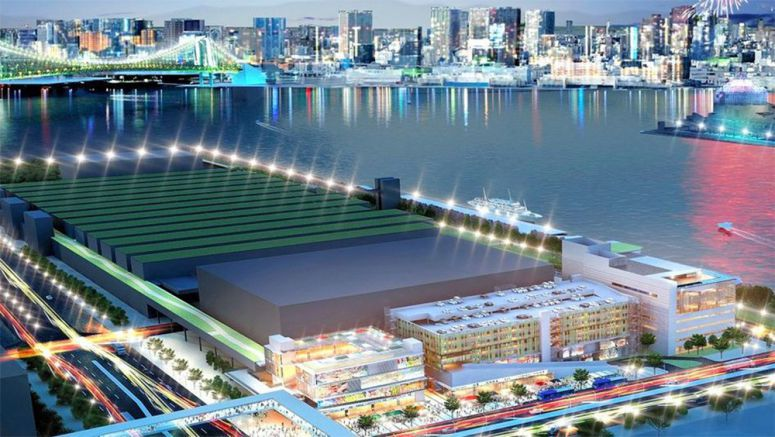 Shopping and amusement complex planned near Tokyo's new fish market