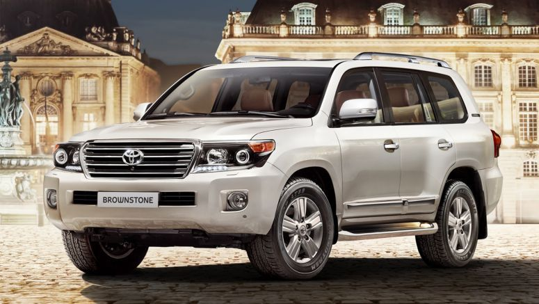 New Toyota Land Cruiser 200 Brownstone Special is for Russia's Eyes Only