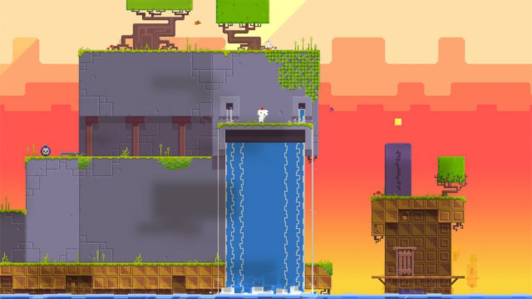 Sony : FEZ Turns Heads on PS4, PS3, Vita March 25th