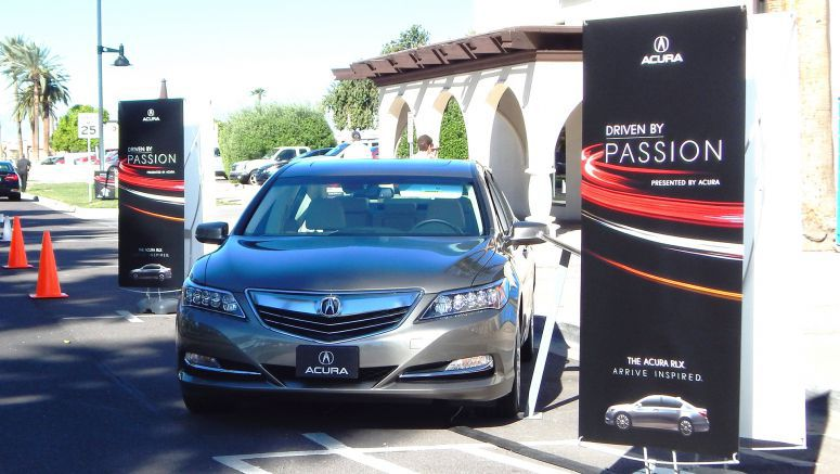 "Acura Multi-City ""Driven by Passion"" Tour Showcases 2014 RLX Flagship Sedan"