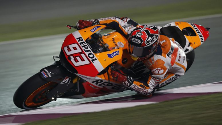 Honda : MotoGP Marquez takes Qatar pole with Pedrosa in 6th