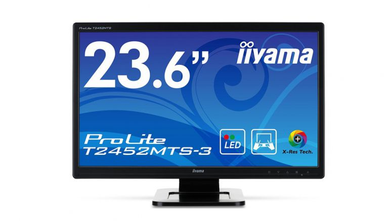 iiyama ProLite T2452MTS-3 23.6-Inch 2-Point Multi-Touch LCD Monitor