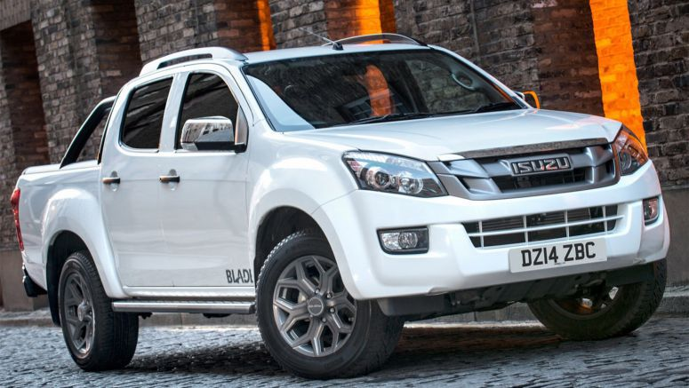 Isuzu Introduces D-Max Blade Special Edition Pickup in the UK