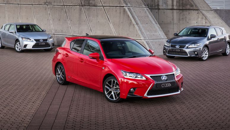 Lexus CT200h facelifted hatch range retains $39,990 pricing