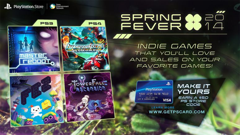 Sony : Spring Fever 2014: Discounts on TowerFall, Fez, and More