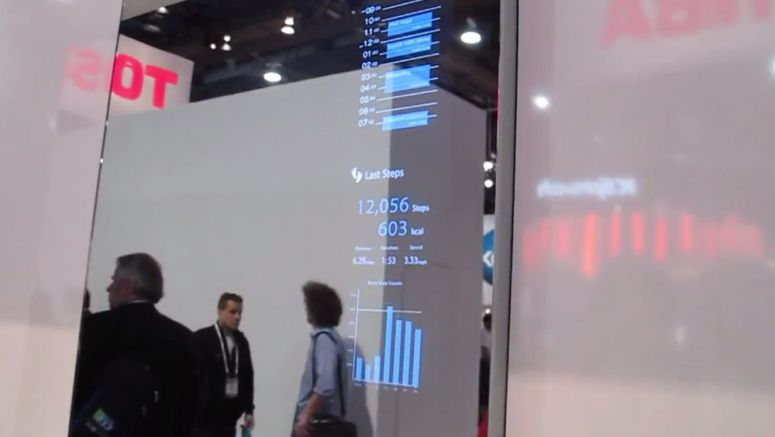 VIDEO : Toshiba Future Technologies: Smart Displays