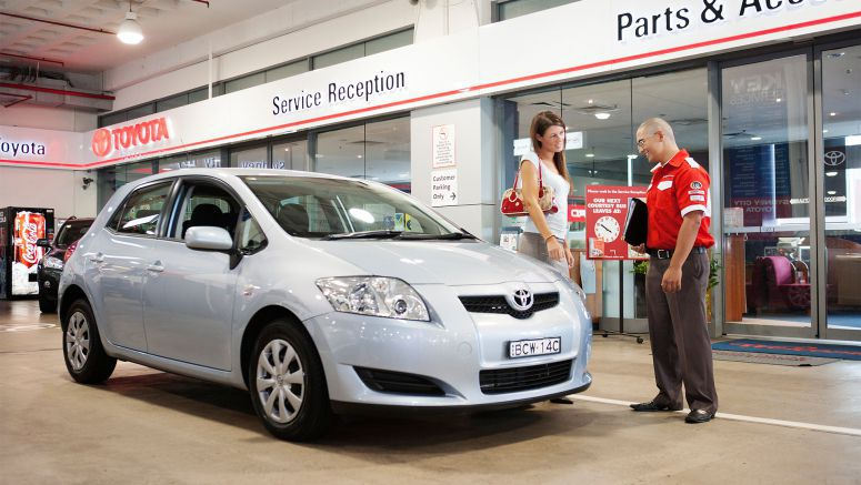 Toyota Recognises Outstanding Dealer Service